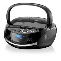 Som Portátil Multilaser SP 157 Dock Station Iphone/Ipod 20W RMS Boombox USB/Aux - SP157 - Neutro - Multilaser