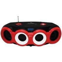 Som Portátil USB MP3 CD FM BD 1420 Boombox - Lenoxx