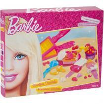 Sorveteria Divertida Barbie - Massinhas e Acessórios - Fun