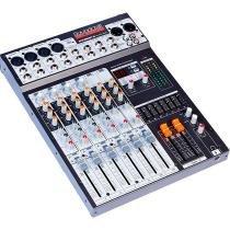 Soundcraft SX-802FX Mixer 8 Canais 16 Efeitos - JBL Selenium - Selenium