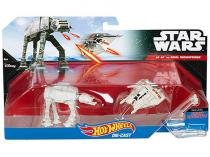 Star Wars AT-AT vs. Rebel Snowspeeder Hot Wheels - 2 Miniaturas Mattel