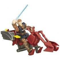 Star Wars - Hero Mashers - Jedi Speeder e Anakin Skywalker - Hasbro