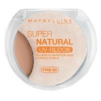 Super Natural FPS30 UV-Block Maybelline - Pó Compacto - 01 - Claro - Maybelline
