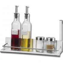 Suporte para Condimentos Spazio Aço Inox 2215/104 - Brinox - Brinox