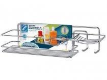 Suporte para Shampoo Cromado Retangular - Arthi Premium