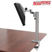 """Suporte Tri-Articulado para Monitor LED e LCD de 13"""" a 27"""" SBRM753P  Brasforma - Brasforma"""