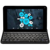 "Tablet DL E-Tech 8GB Tela 7"" Wi-Fi Android 4.4 Câmera Frontal com Teclado"