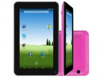 "Tablet DL e-Volution S 8GB 7"" Wi-Fi Android 4.4 - Proc. Dual Core Câmera Integrada"
