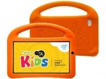 "Tablet DL Play Kids 8GB 7"" Wi-Fi Android 5.1 - Proc. Quad Core Câmera Frontal"