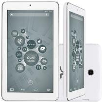 "Tablet DL X-Quad Core 8GB 7"" Wi-Fi Android 4.4 - Câmera Integrada"