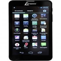 Tablet Lenoxx TP-6000 6 Pol Branco 4GB Dual Chip Wifi 3G Dual-Core Android 4.2 Micro SD USB MP3 - Lenoxx