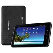 "Tablet Mondial TB-07 8GB Tela 7"" Android 4.4 - Proc. Quad Core Câmera Integrada"