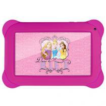 "Tablet Multilaser Disney Princesas 8GB 7"" Wi-Fi - Android Quad Core Câm. 2MP + Frontal"