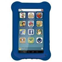 Tablet Multilaser Kid Pad Azul Quad Core Dual Câmera Wi-Fi Tela Capacitiva 7 Memória 8GB - NB194 - Azul - Multilaser