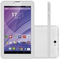 "Tablet Multilaser M7 8GB 7"" 3G Wi-Fi - Android Proc. Quad Core Câmera Integrada"