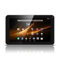 "Tablet Multilaser M9 Branco Quad Core Android 4.4 Kit Kat Dual Câmera Wi-Fi Tela 9"" Polegadas Mem 1GB e 8GB Flash - NB175 - Neutro - Multilaser"