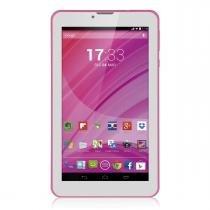 "Tablet Multilaser Rosa M7 3G Quad Core Câmera Wi-Fi 7"" 8GB Dual Chip - NB225 - Rosa - Multilaser"