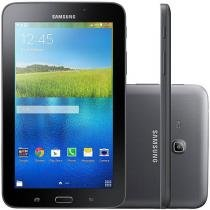 "Tablet Samsung Galaxy E 8GB 7"" Wi-Fi Android 4.4 - Proc. Quad Core Câmera Integrada"