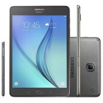 "Tablet Samsung Galaxy Tab A 16GB 8"" 4G Wi-Fi Android 5.0 Proc. Quad Core Câm. 5MP + Frontal"