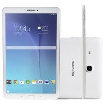 "Tablet Samsung Galaxy Tab E 8GB 9.6"" Wi-Fi Android 4.4 Proc. Quad Core Câm. 5MP + Frontal"