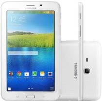 "Tablet Samsung Galaxy Tab E 8GB Tela 7"" Wi-Fi - Android 4.4 Proc. Quad Core Câmera Integrada"