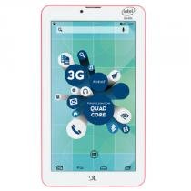 "Tablet SocialPhone 7"" Android 5 8GB Wifi 3G Dual Rosa - DL - DL"