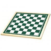 Tabuleiro para Xadrez 50x50cm Verde/Branco 56410 - Xalingo - Xalingo