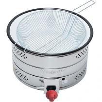Tacho para Frituras à Gas 7,5L - Inox TH.1.728 com Controle de Temperatura