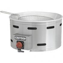 Tacho para Frituras a Gás 7L Inox Croydon TFGC-G - com Controle de Temperatura