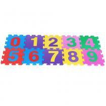 Tapete de Números em EVA Colorido 60 - Carlu - Carlu