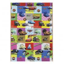 Tapete Disney Recreio Enrolado Carros 120x180 cm - Jolitex - Carros - Jolitex