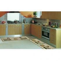Tapete para Cozinha Sisal Look Jogos de Cozinha - 3 Peças - Rayza