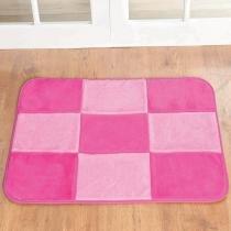 Tapete Retangular Patchwork Pink - Colorido - Guga Tapetes