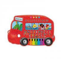 Teclado Infantil Irado Angry Birds Vermelho - Fun - Fun