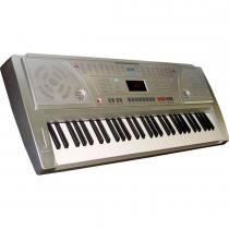 Teclado Musical Bivolt 61 Teclas 100 Ritmos 2172 - CSR - CSR