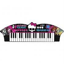 Teclado Musical Infantil Skull Bat Monster High MH1351 - Fun - Fun