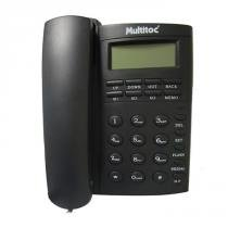 Telefone com Fio Office ID 929L Grafite - Multitoc - Multitoc