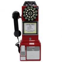Telefone Com Fio Retro Classic Watson Vermelho 33.749  Classic - Classic