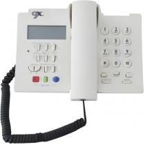 Telefone de Mesa com fio Domo com Identificação de Chamadas - Ox. Domo