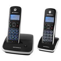 Telefone Digital sem fio Motorola até 5 ramais - Identificador de Chamadas AURI 3500 MRD