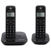 Telefone Digital sem Fio Motorola Dect 6.0 Gate 4000 com Id. Chamadas e 1 Ramal - Motorola