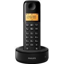 Telefone sem Fio com ID D1301B/BR Preto - Philips - Philips