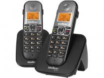 Telefone Sem Fio Intelbras 6 Ramais - c/ Identificador de Chamadas TS 5122