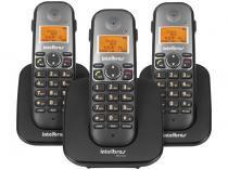 Telefone Sem Fio Intelbras 6 Ramais - c/ Identificador de Chamadas TS 5123