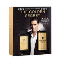 The Golden Secret Antonio Banderas - Masculino - Eau de Toilette - Perfume + Desodorante - Antonio Banderas