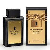 The Golden Secret Eau de Toilette Antonio Banderas - Perfume Masculino - 30ml - Antonio Banderas