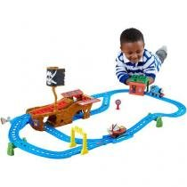 Thomas & Friends Ferrovia Motorizada - Aventura Pirata - Fisher-Price
