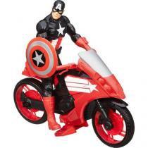 Titan Hero Veículo e Avengers Capitain America - Hasbro