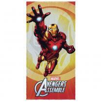 Toalha de Banho Felpuda Estampada Avengers E - Lepper