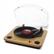 Toca-Discos Vinil com alto-falantes, tampa protetora e conversão para o formato digital - MAXLP - Ion - ION